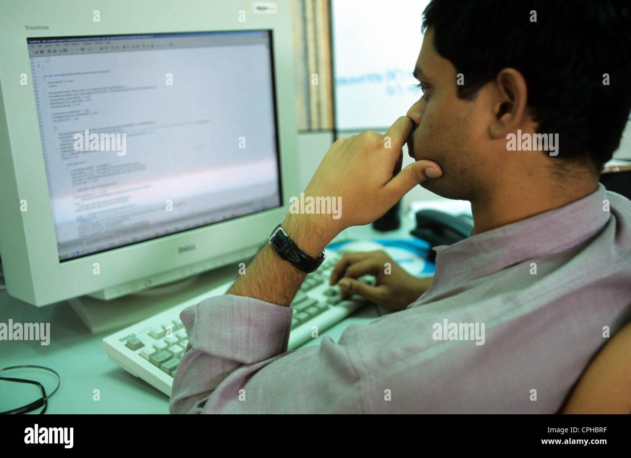 INDIA Bangalore , campus di Infosys nella città di elettronica, Infosys è uno dei principali sviluppatori Immagini Stock