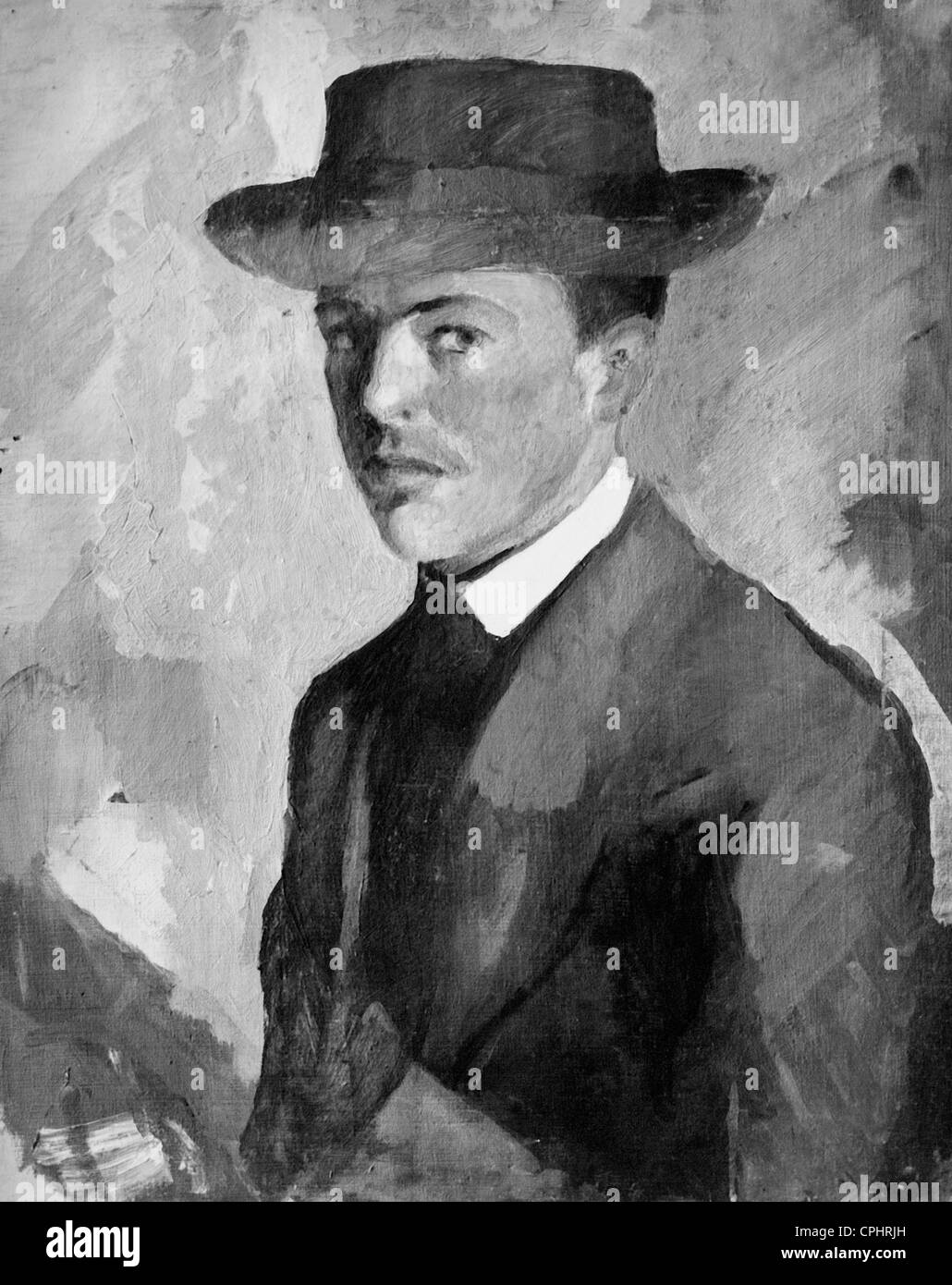 August Macke, 1909 Immagini Stock