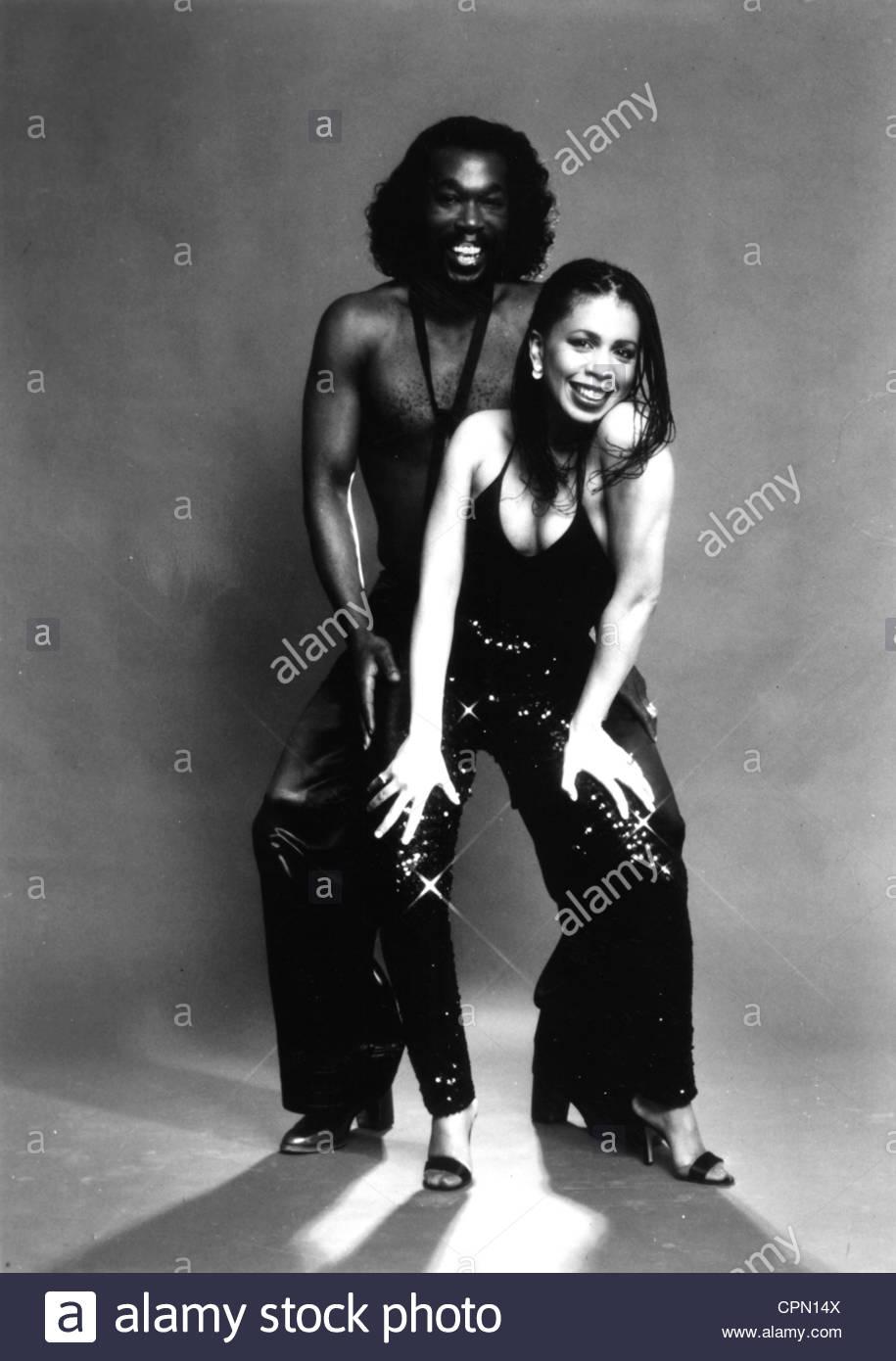 Circa settanta: Nick Ashford e Valerie Simpson. Solo uso editoriale. Foto cortesia Granamour Weems Collection Immagini Stock