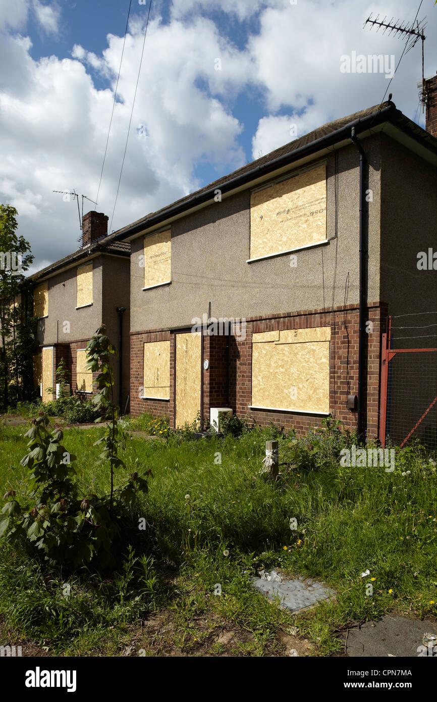 Intavolato alloggiamento in Bexleyheath, Londra, Regno Unito. Immagini Stock