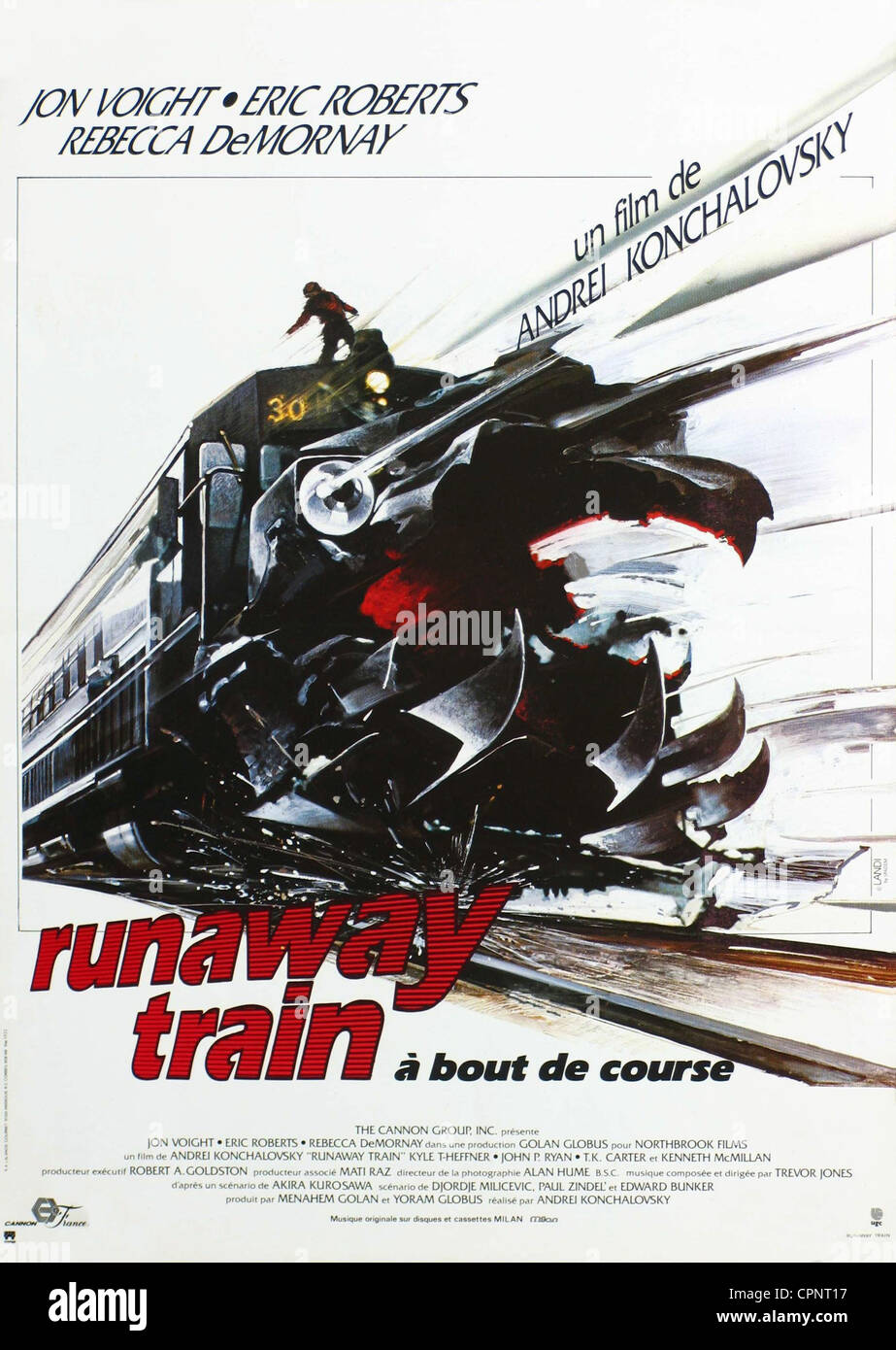 Runaway Train Immagini Stock