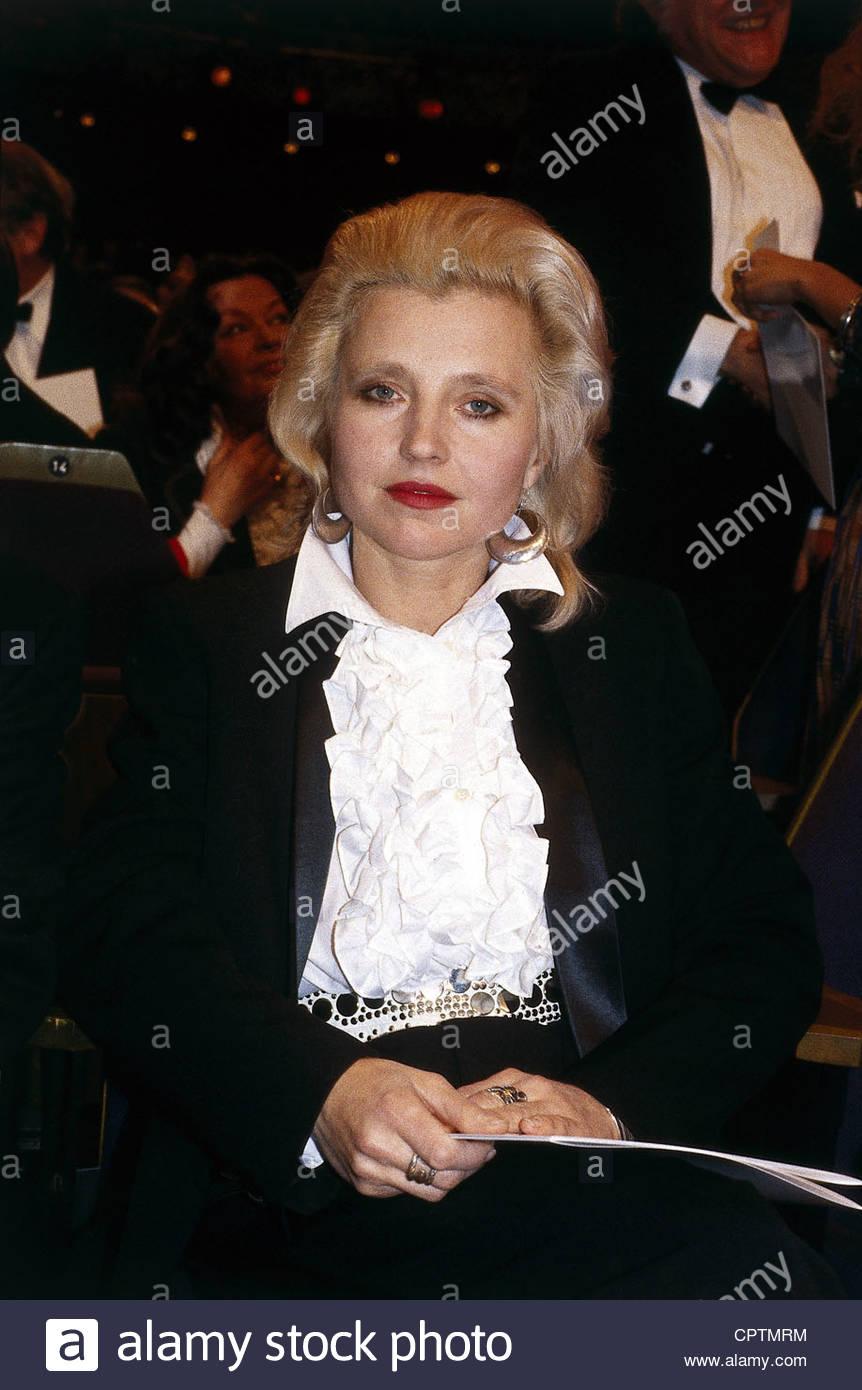 Schygulla, Hanna, * 25.12.1943, tedesco attrice, cantante e mezza lunghezza, degli anni ottanta, Immagini Stock