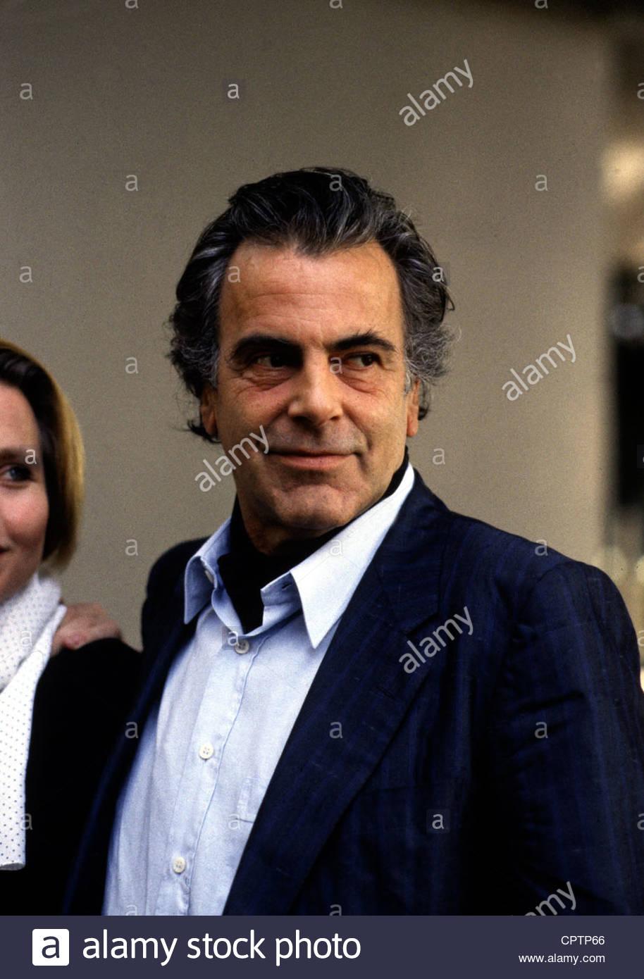 Schell, Massimiliano, * 8.12.1930, attore austriaco, ritratto, agli inizi degli anni ottanta, Immagini Stock