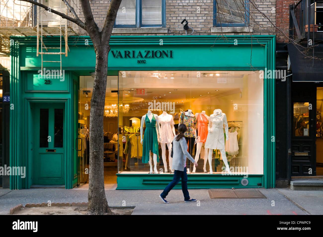 new concept cb78e 5ce63 Negozio di abbigliamento boutique su Prince Street in Nolita ...