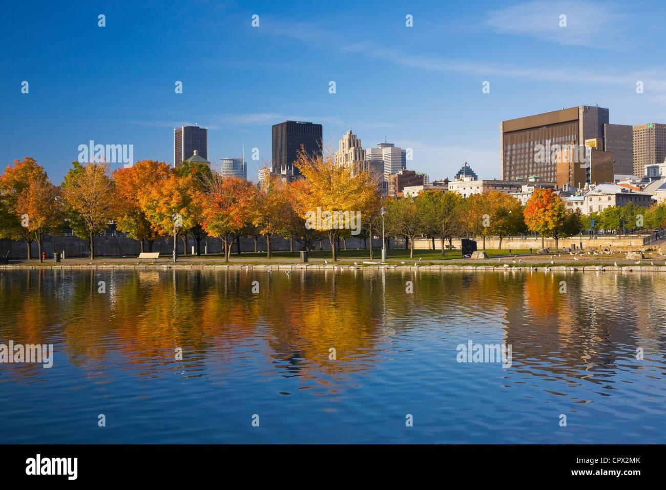 Skyline, Montreal, Quebec, Canada Immagini Stock