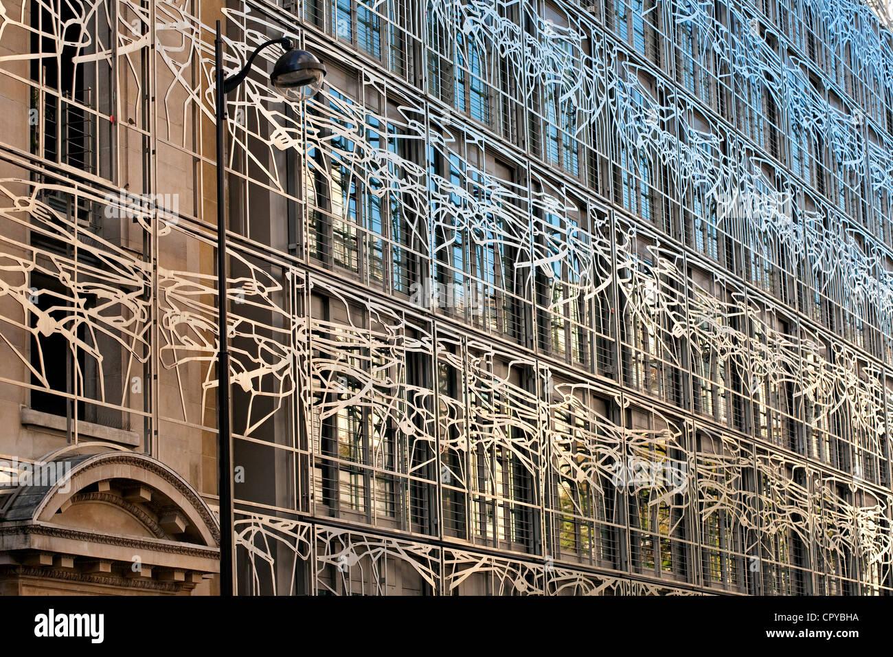 Francia, Parigi, Ministero della cultura da parte di architetti Francesco Soler e Frédéric Druot Foto Stock