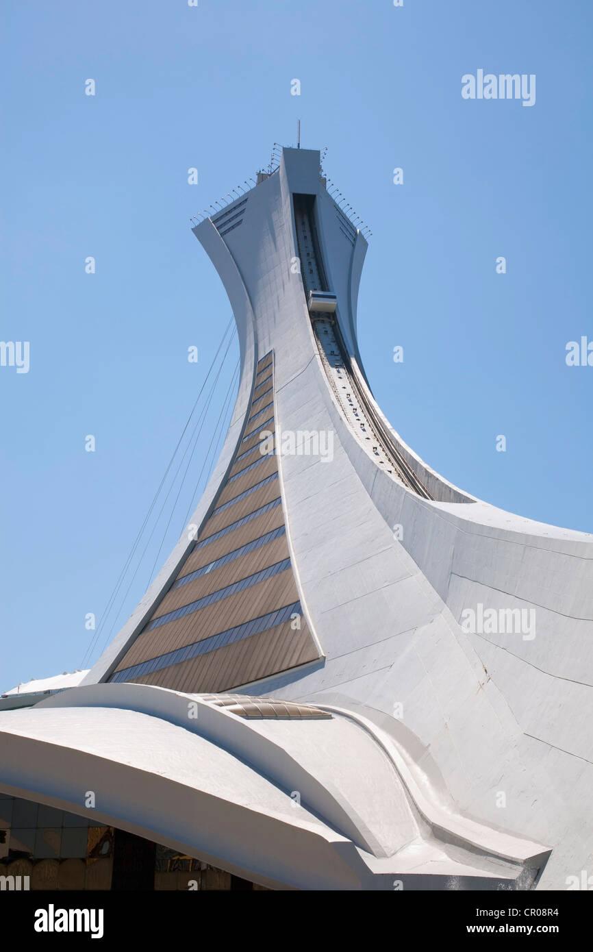 Stadio Olimpico, Montreal, Quebec, Canada Immagini Stock