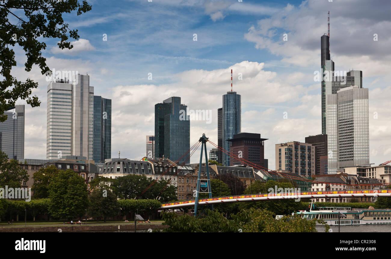 Grattacieli di Urban Skyline Immagini Stock