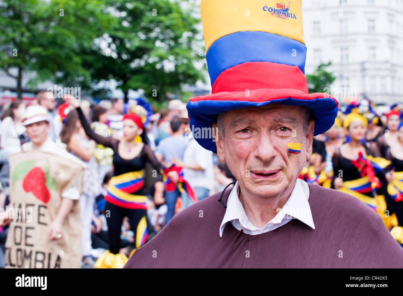 Il Carnevale delle culture di Berlino Immagini Stock
