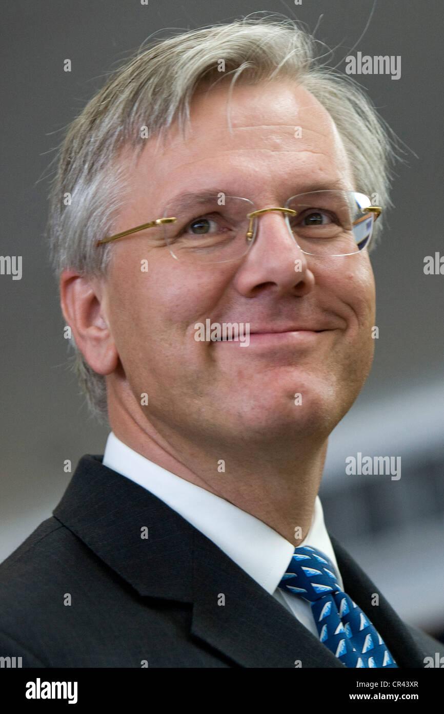 Christoph Franz, Presidente e CEO di Deutsche Lufthansa AG Immagini Stock