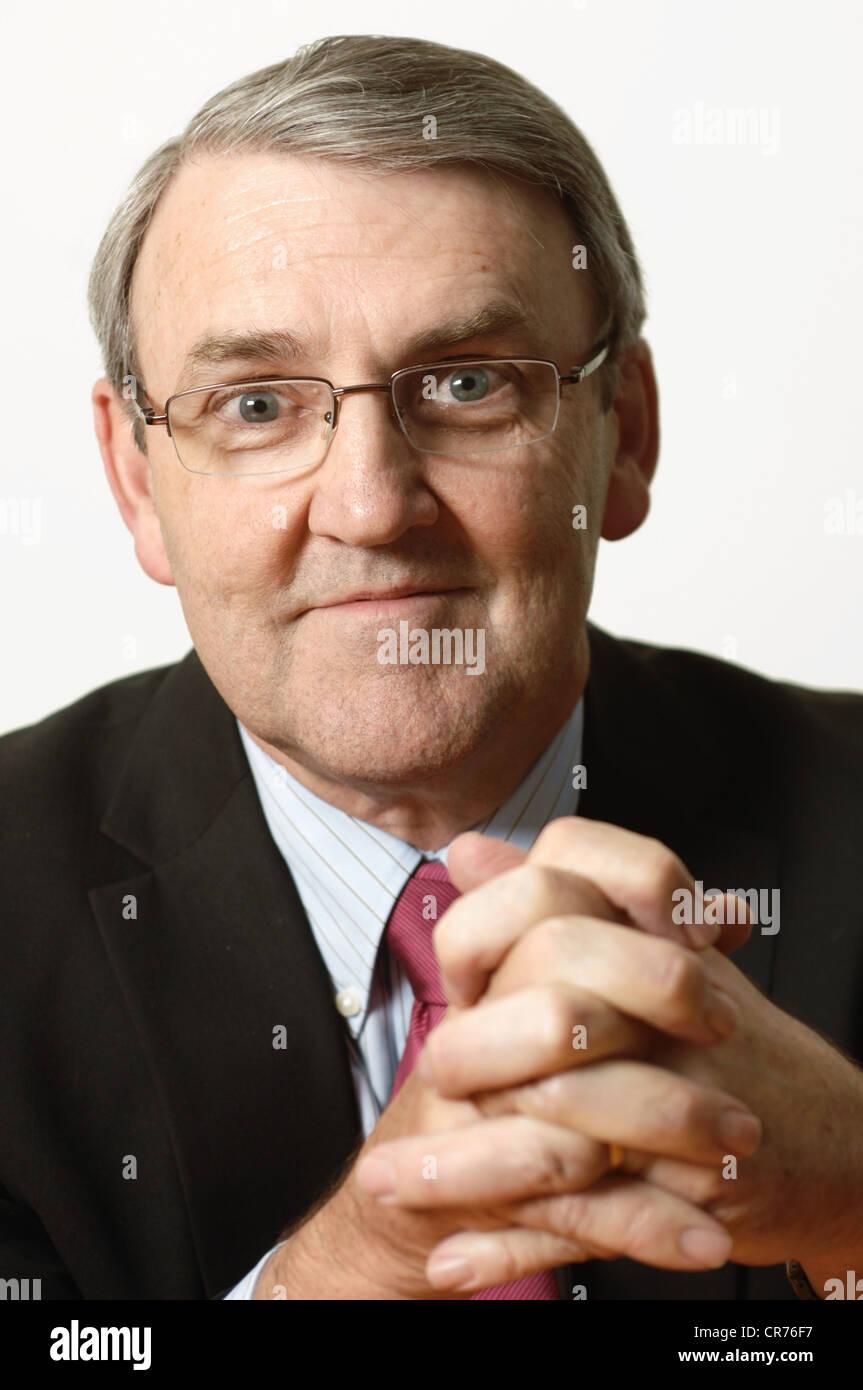 Buone relazioni gruppo Presidente Kevin Murray Immagini Stock