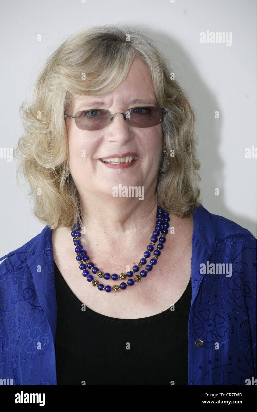 """Richards, Emilie, American autrice / autore / scrittore, ritratto, photocall per la ZDF SERIE TV """"Emilie Richards', Immagini Stock"""