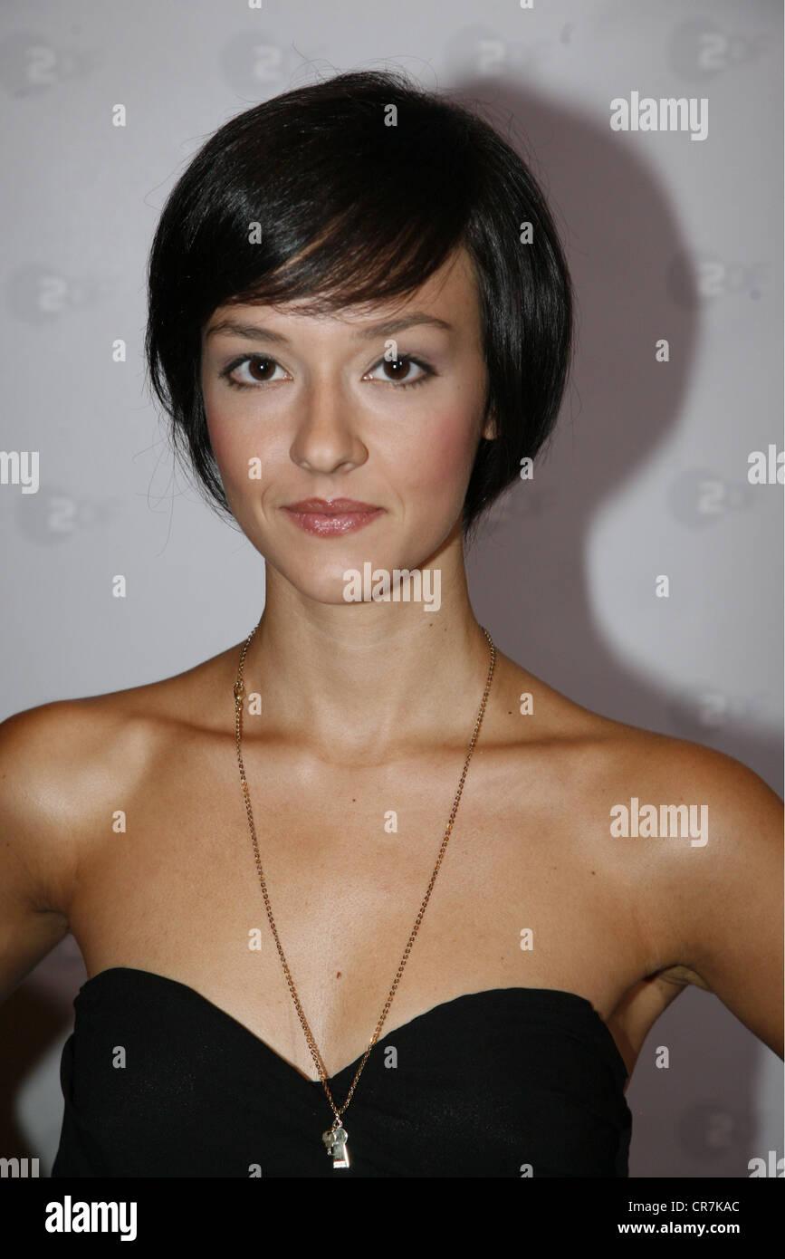"""Gastini, Marta, * 2.10.1989, attrice italiana, ritratto, photocall per la ZDF SERIE TV """"Borgia"""", Amburgo, Immagini Stock"""