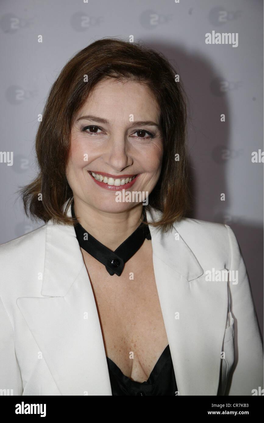 """Serna, Assumpta, * 16.9.1957, attrice spagnola, ritratto, photocall per la ZDF SERIE TV """"Borgia"""", Amburgo, Immagini Stock"""