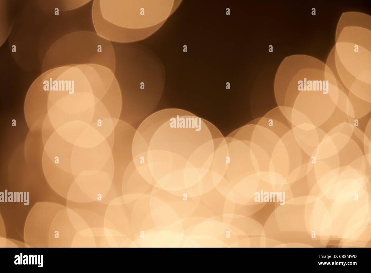 Abstract luci di colore beige Immagini Stock