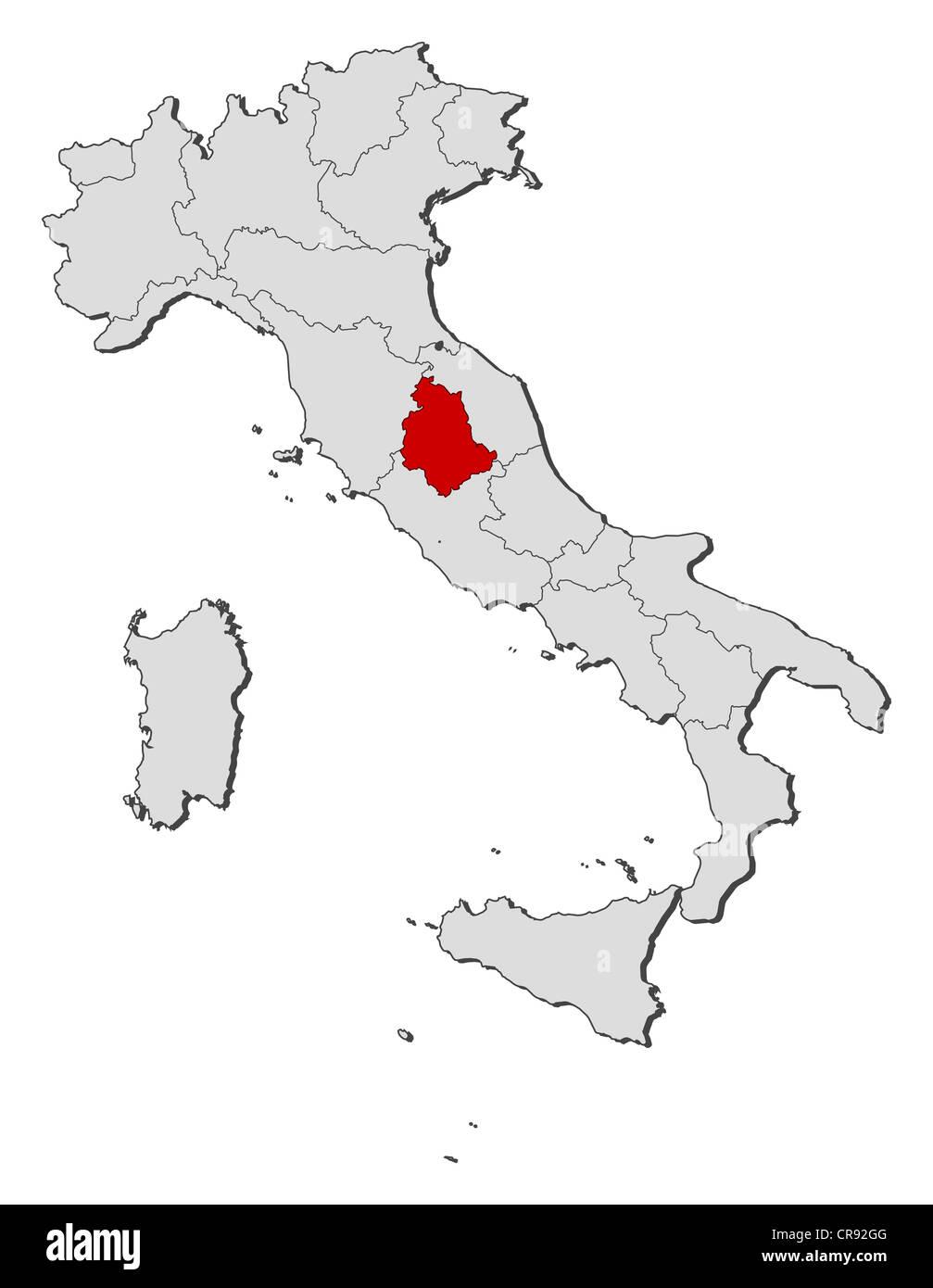 Cartina Italia Politica Umbria.Vettori Vettoriali Umbria Immagini E Fotos Stock Alamy