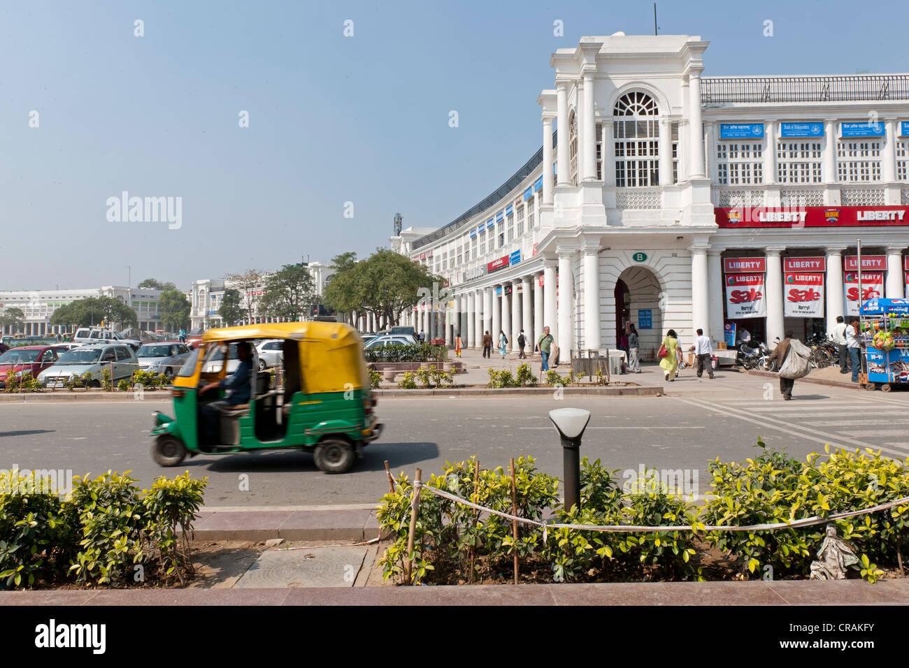 Connaught Place, New Delhi, India del Nord, India, Asia Immagini Stock