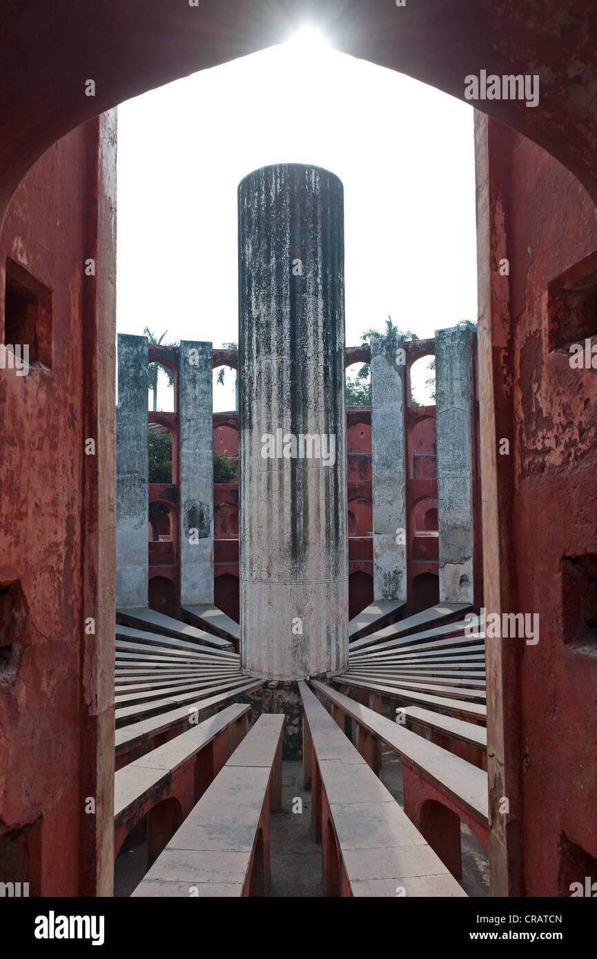 Osservatorio Jantar Mantar, New Delhi, Delhi, India, Asia Immagini Stock