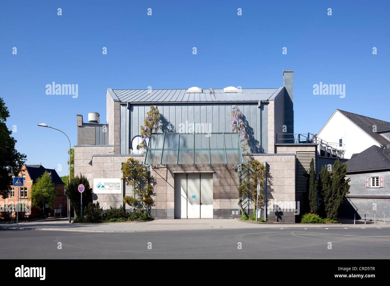 Municipio, conferenze e eventi centro, Wetzlar, Hesse, Germania, Europa PublicGround Immagini Stock