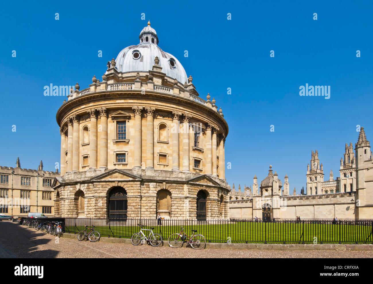 Radcliffe Camera città universitaria di Oxford, Oxfordshire, England Regno unito Gb europa Immagini Stock