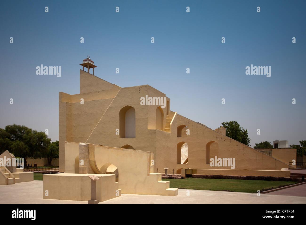 Jantar Mantar a Jaipur Immagini Stock