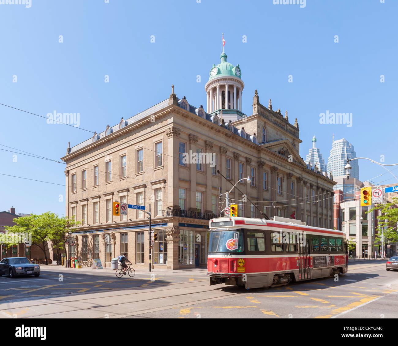 St Lawrence Hall di Toronto Immagini Stock