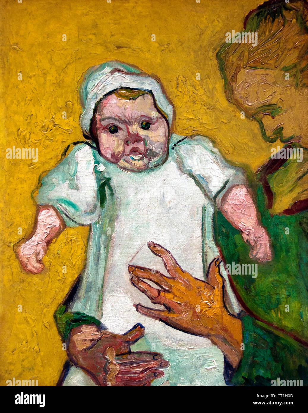 Madame roulin e il suo bambino 1888 vincent van gogh 1853 for Ciao bambini van gogh