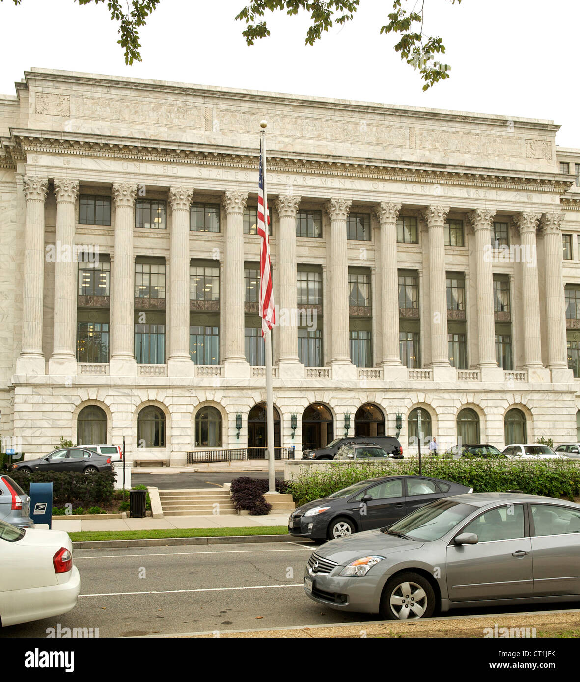 Dipartimento di Agricoltura Costruzione in Washington DC, Stati Uniti d'America. Immagini Stock
