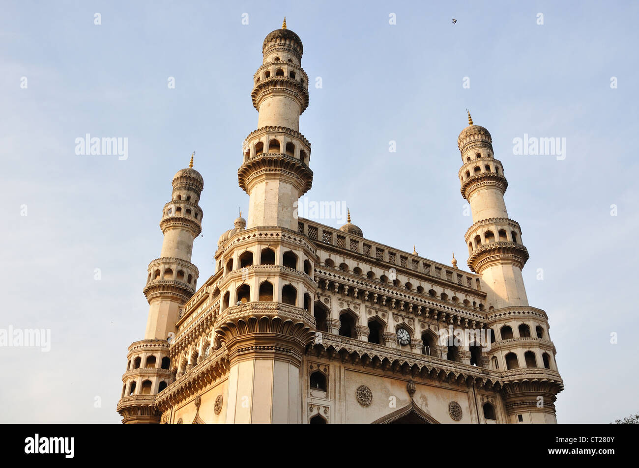 Charminar, landmark monumento in Hyderabad, Andhra Pradesh, India. Immagini Stock