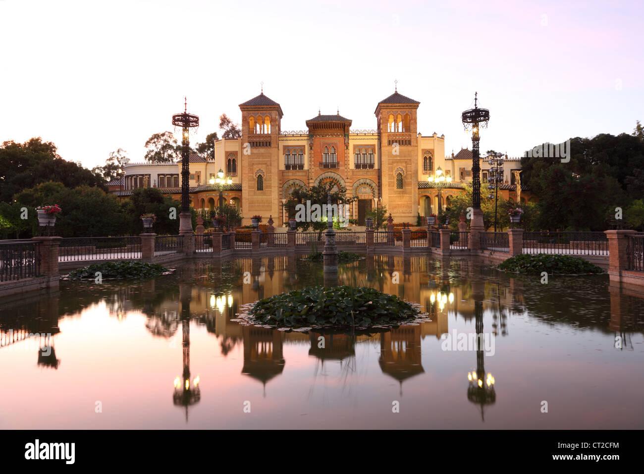 Museo delle Arti e Tradizioni di Siviglia Andalusia Spagna Immagini Stock