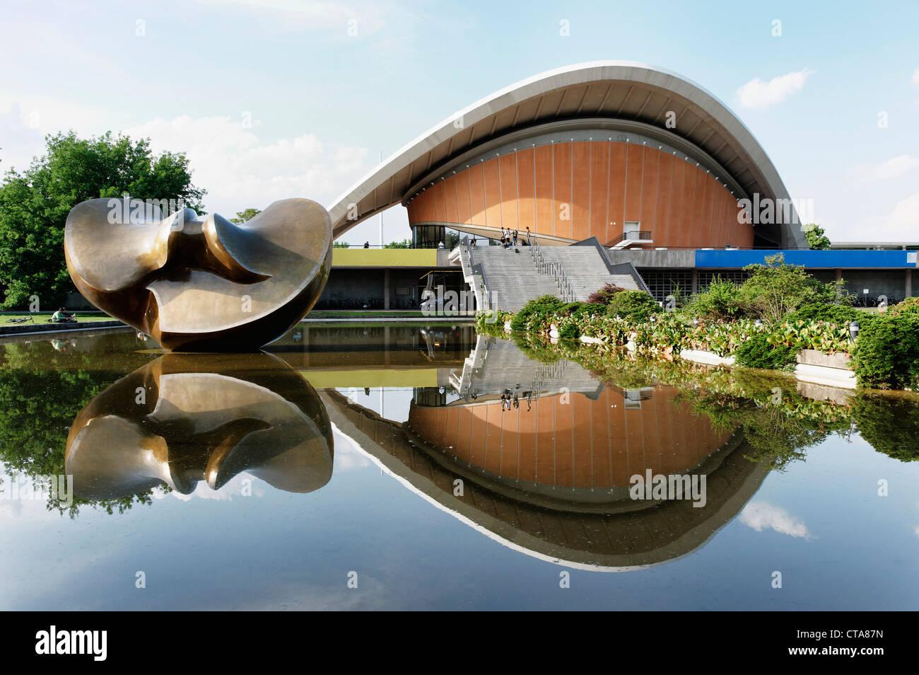 Casa delle culture del mondo, lo Zoo di Berlino, Germania Immagini Stock