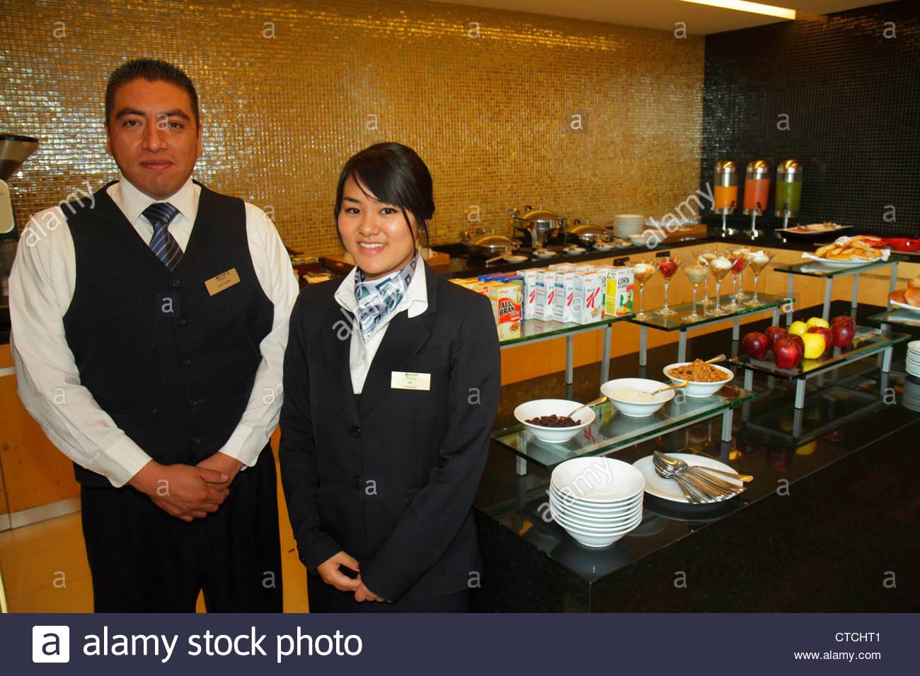 Città del Messico MESSICO DF D.F. Distrito Federal Paseo de la Reforma Marriott Reforma Hotel American hotel Immagini Stock