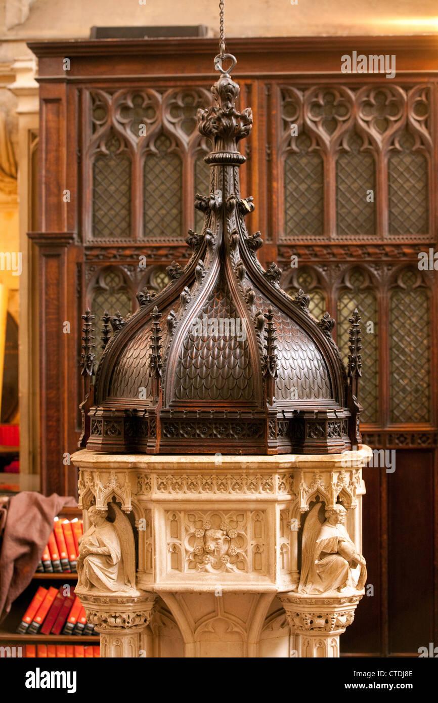 Il carattere vittoriano risalente al 1874, Abbazia di Bath Bath Somerset REGNO UNITO Immagini Stock