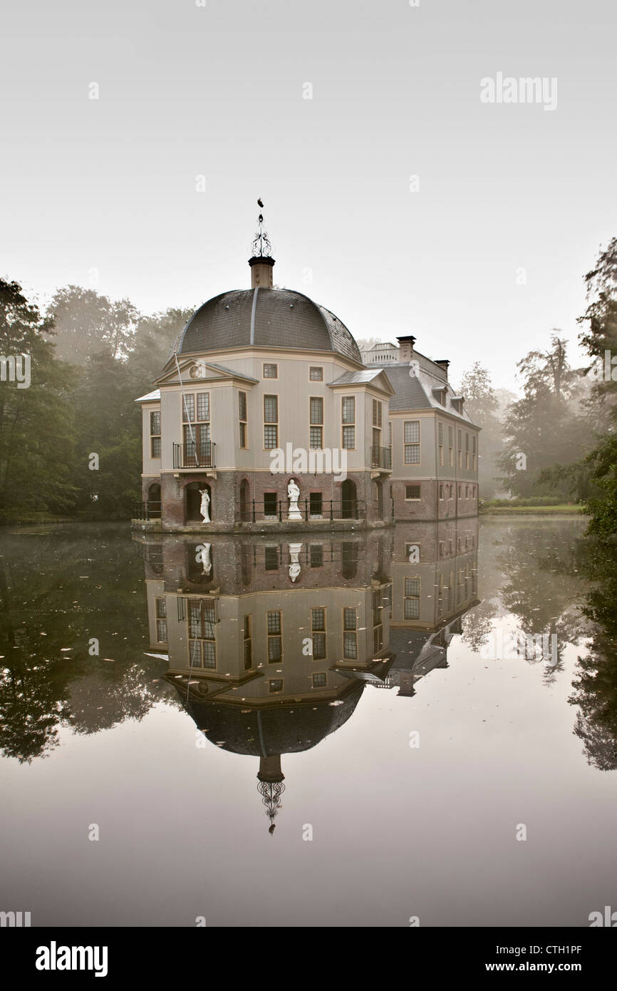 I Paesi Bassi, 's-Graveland, tenuta rurale chiamato Trompenburgh. Immagini Stock