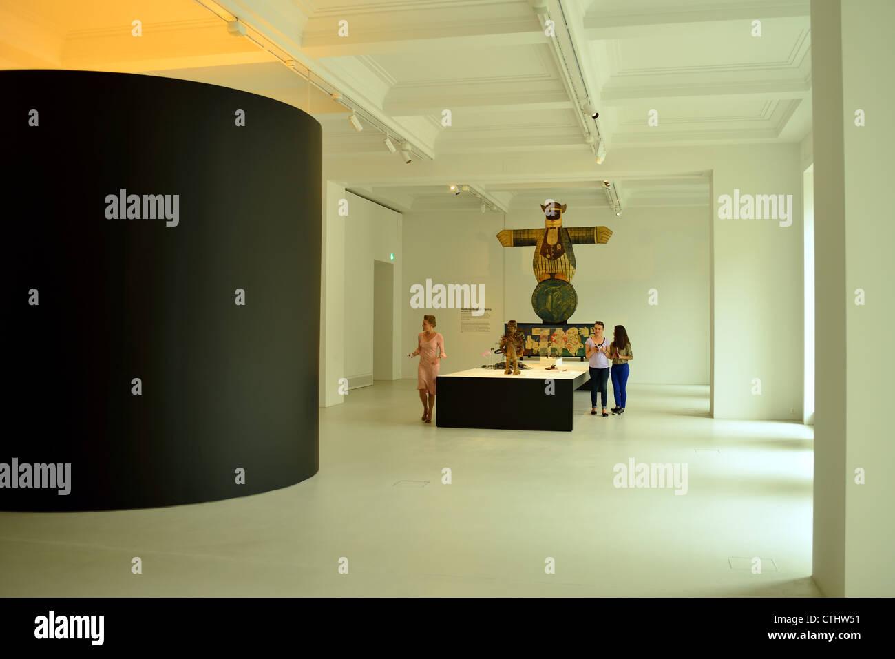 Museo delle Culture di Basilea, in Svizzera Immagini Stock