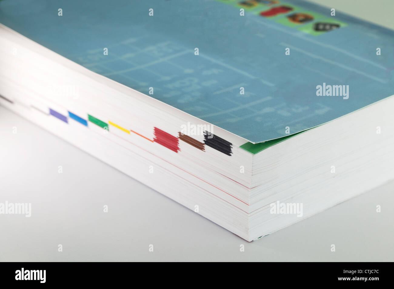 Catalogo prodotti Immagini Stock