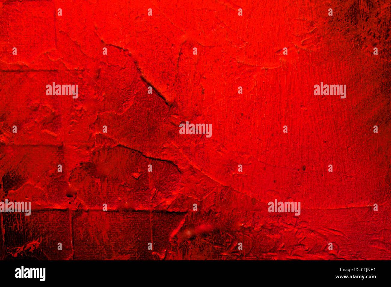 Sfondo rosso o il telaio con un sacco di texture e di dettagli Immagini Stock