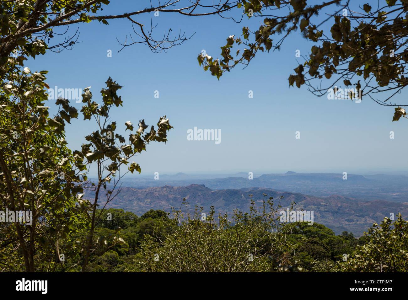 Vista Collina da Boquete, Chiriqui Provincia, Panama. Immagini Stock