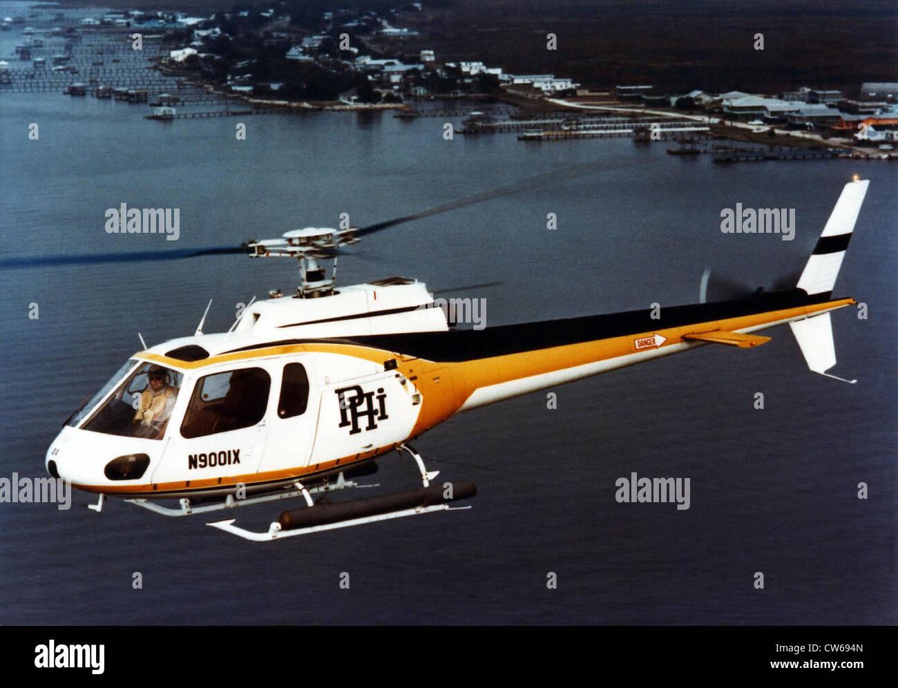 Elicottero 350 : Il francese aérospatiale come 350 ecureuil elicottero leggero foto