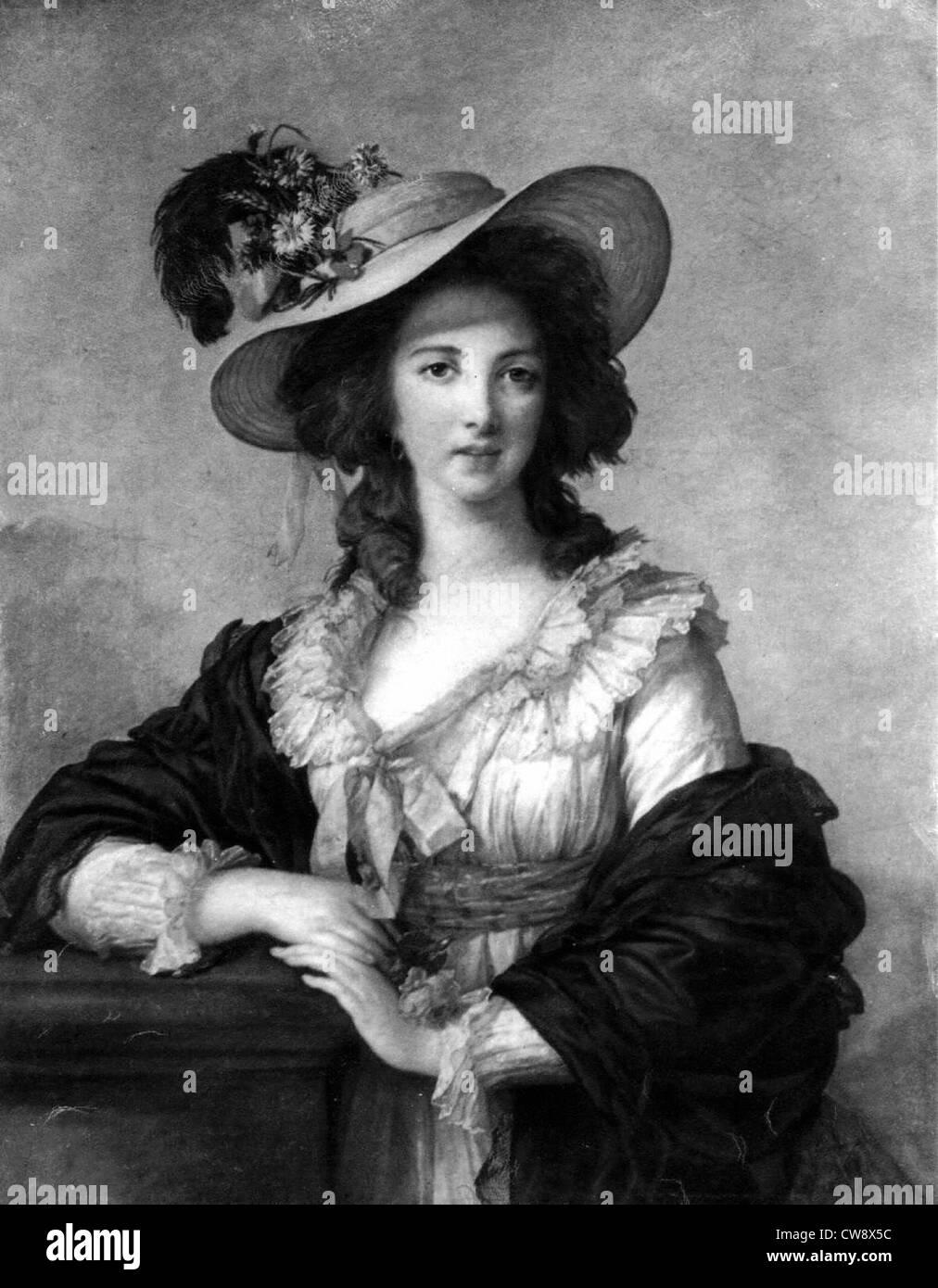 Yolande Martine Gabrielle de Polastron Duchessa de Polignac Foto ... 4c08425d65be