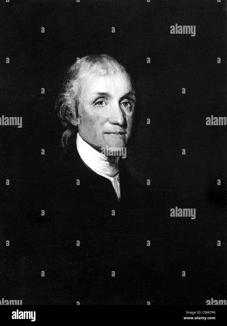 JOSEPH sacerdotale, XVIII secolo ecclesiastico che si distinse per la scoperta di ossigeno. La cortesia: CSU Archivi Immagini Stock