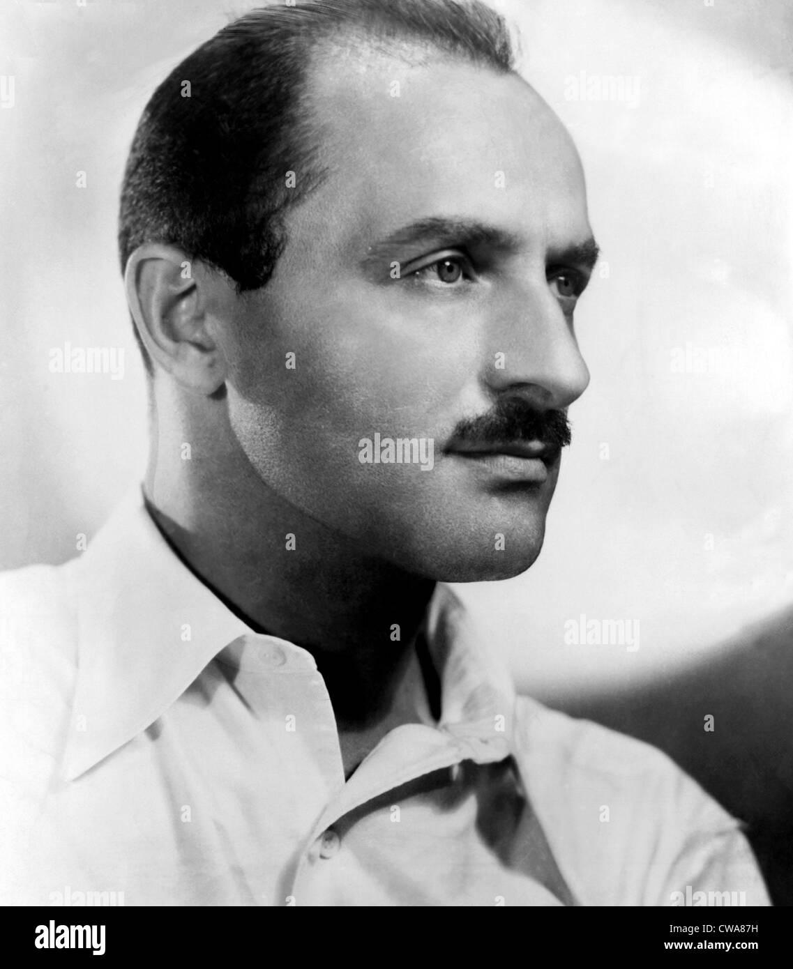 Il compositore Marc Blitzstein, 1947. La cortesia: Archivi CSU/Everett Collection Immagini Stock