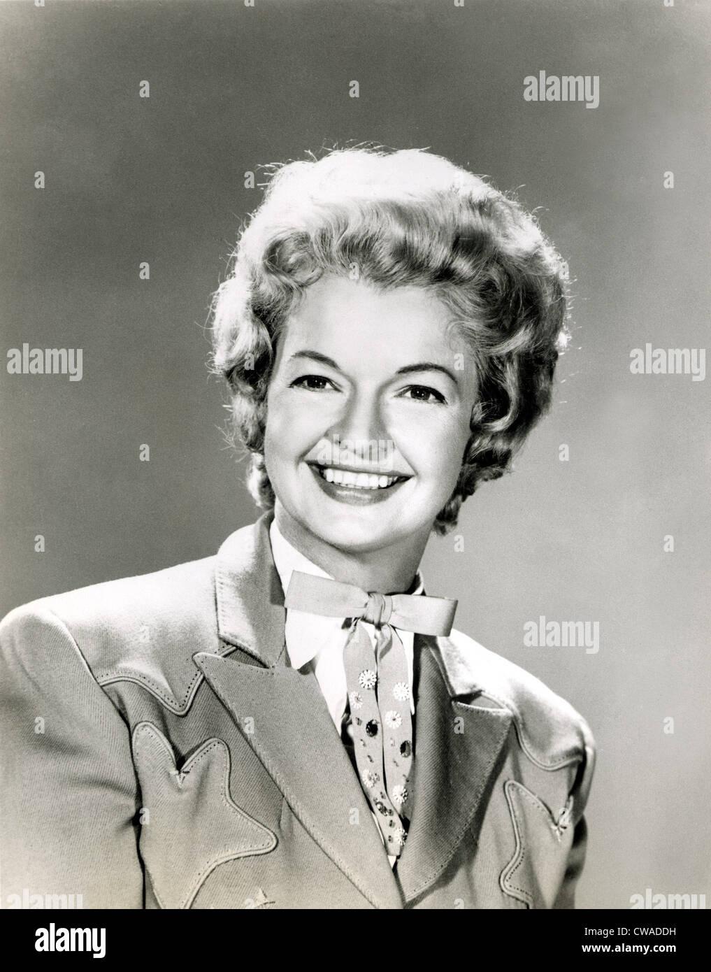 "Dale Evans, aka Sig.ra Roy Rogers."". La cortesia: CSU Archivi / Everett Collection Foto Stock"