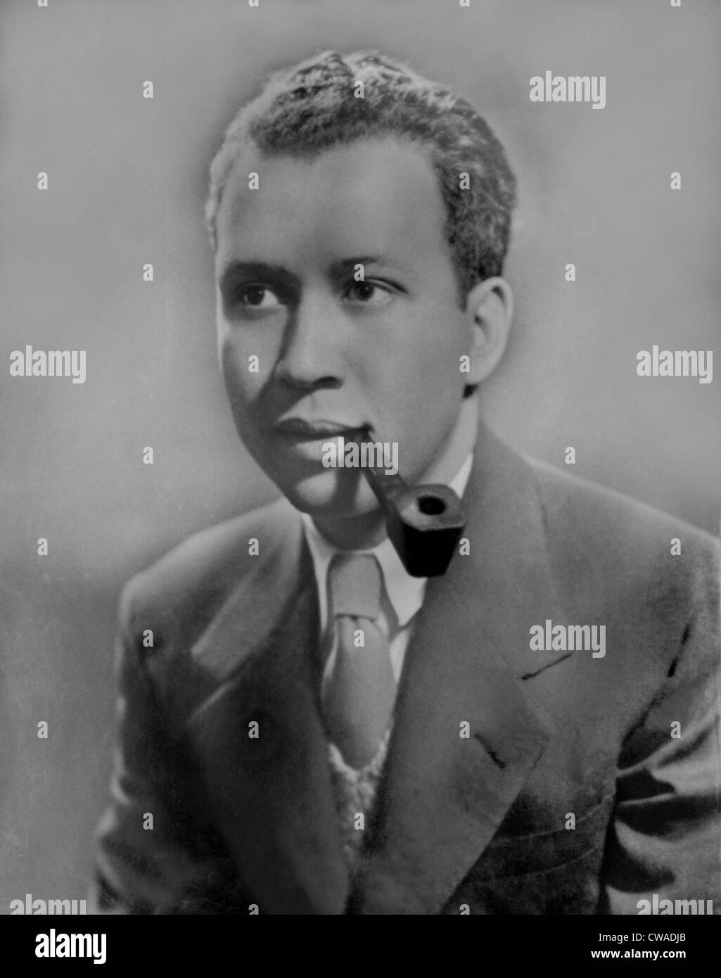 Frank Yerby (1916-1991) afro-americano romanziere storico più noto per 'l'uomo dal Dahomey' (1971). Immagini Stock