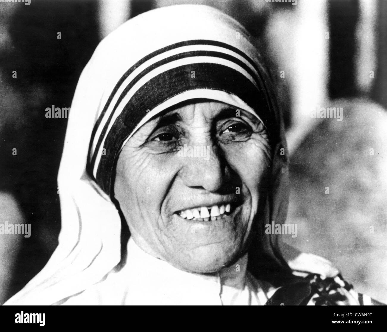 """Madre Teresa di Calcutta, circa 1979."""". La cortesia: CSU Archivi / Everett Collection Foto Stock"""