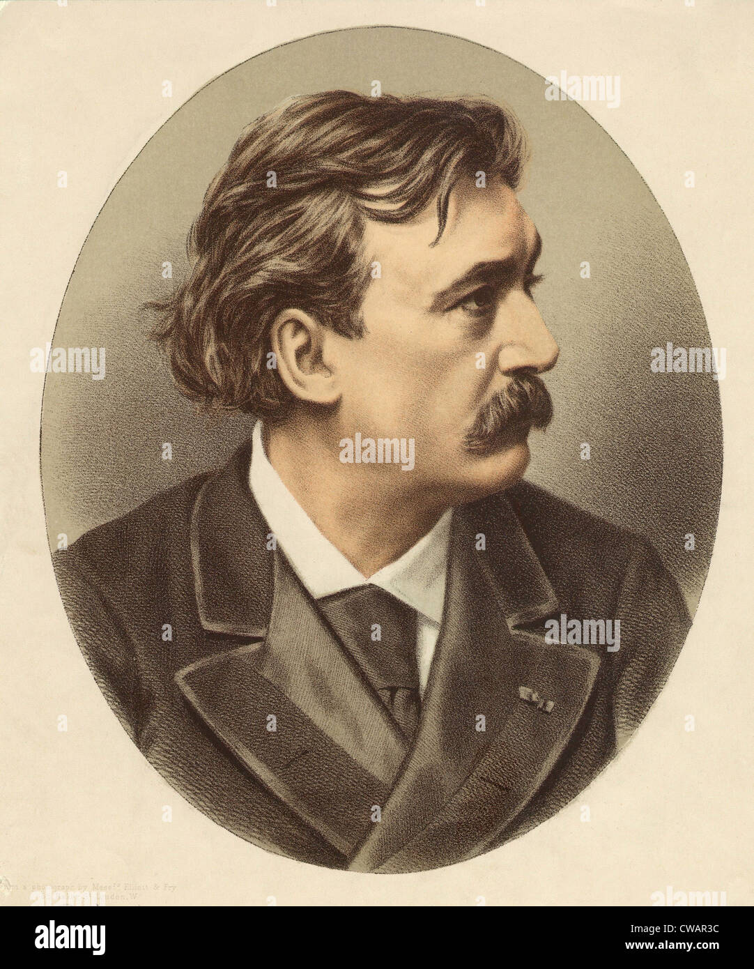 Gustave Dore (1832-1883), illustratore francese ha creato un fantastico ma realisticamente reso scene di letteratura Immagini Stock