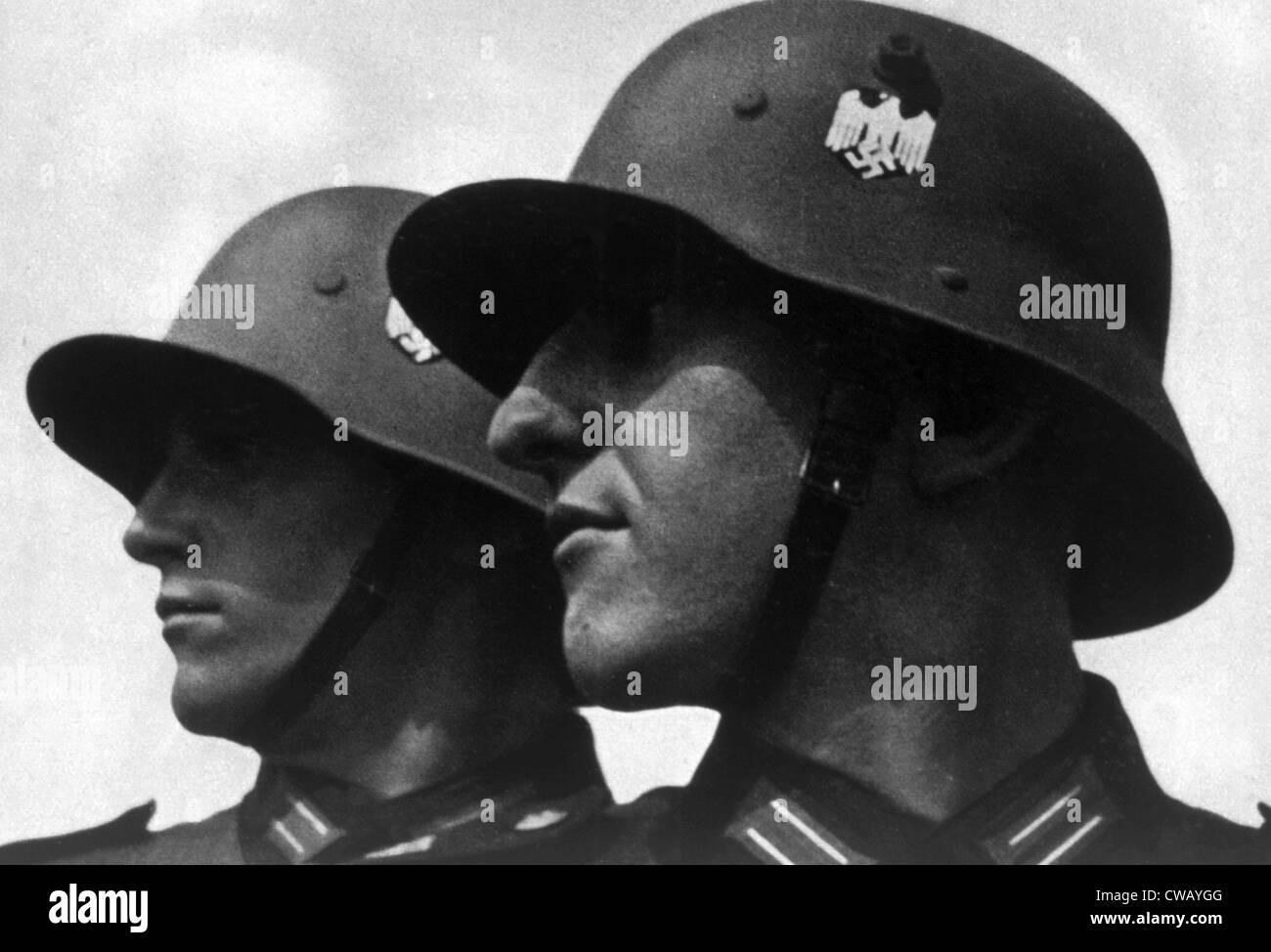 La Germania nazista, la Wehrmacht (forze armate), 1935. Immagini Stock