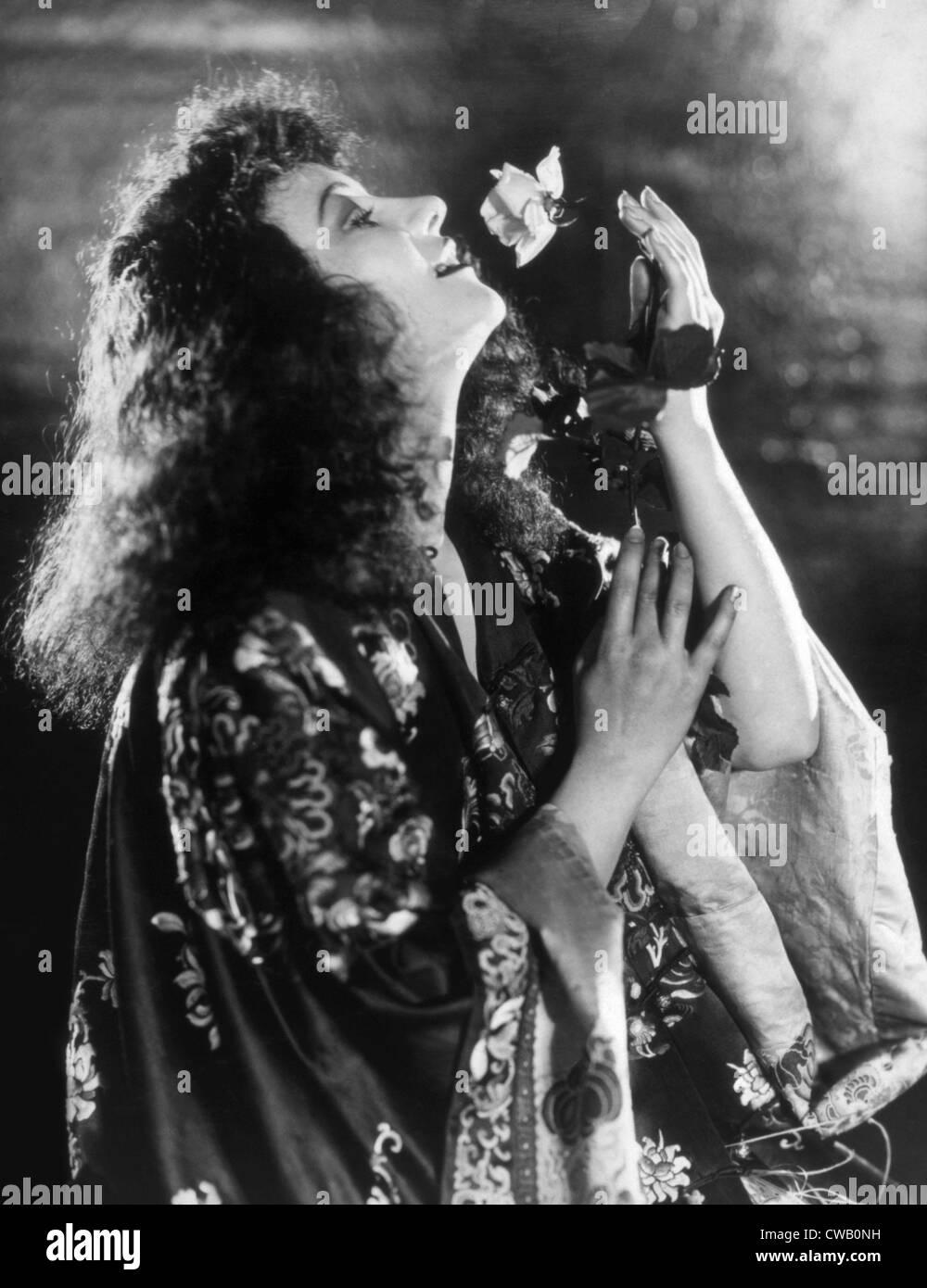 Una signora della morale, Grazia Moore, 1930 Immagini Stock