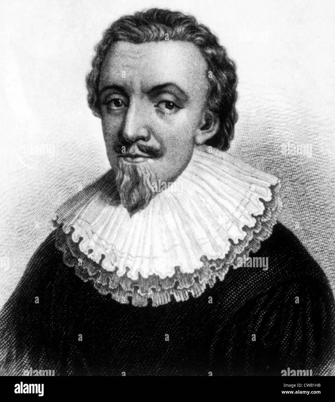 George Calvert (c.1580-1632), il primo Lord Baltimore Immagini Stock