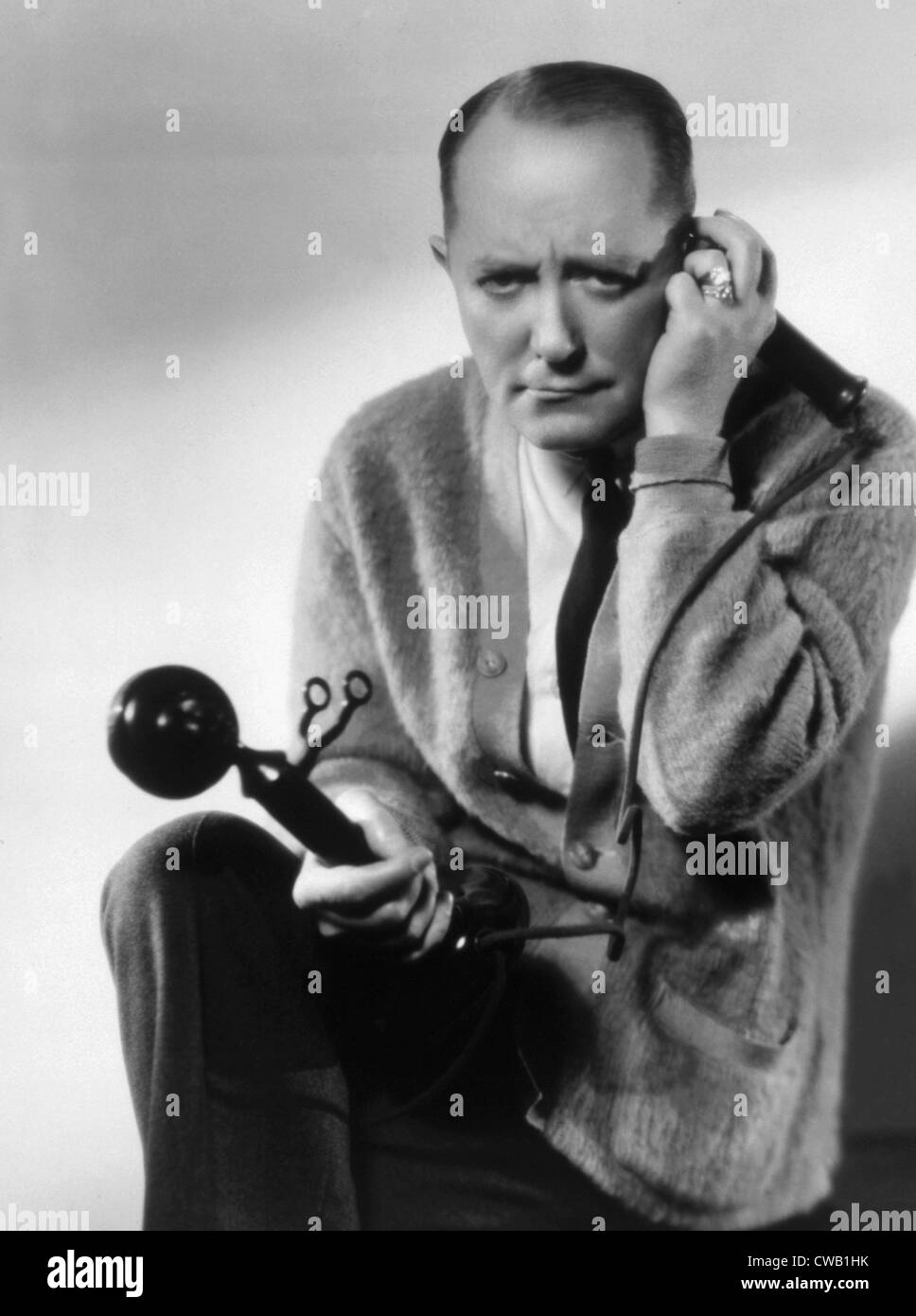 George M. Cohan, ca. 1932 Immagini Stock